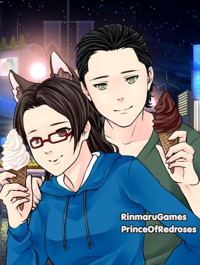 Neko and Loki by AnimeGamerKitten