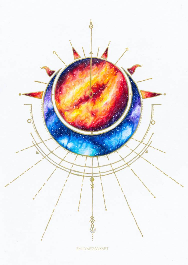 Nebula Eclipse by Emilymeganx