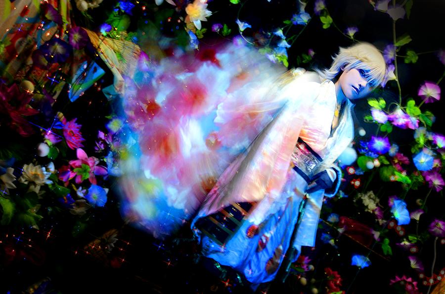 cosplay toukenranbu tsurumaru/ photo by Yuzuru by bittys