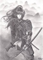 Rurouni Kenshin by LeonBlackVelvet