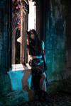 [Cosplay] Tifa Lockhart - Outdoor Shooting #008 by Kitsu-Senpai