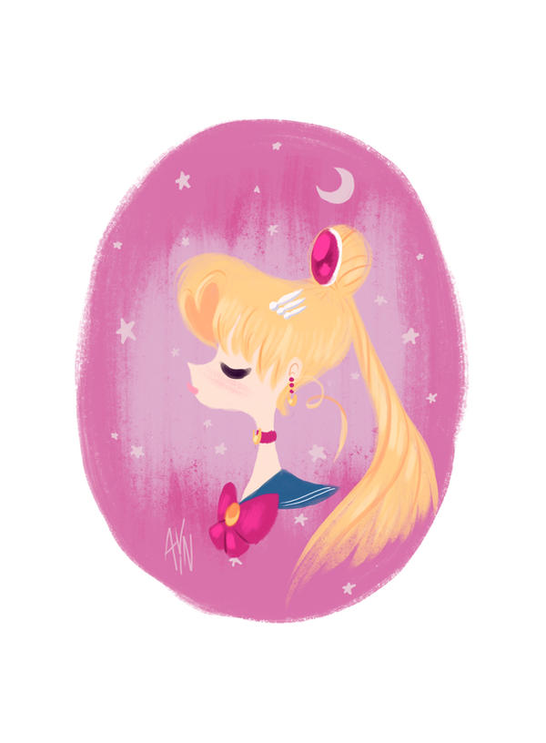 Sailor Moon by artistic-minds