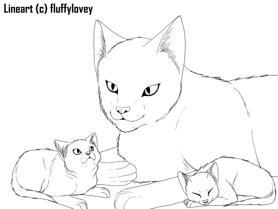 Image Result For Coloring Pages Kitten