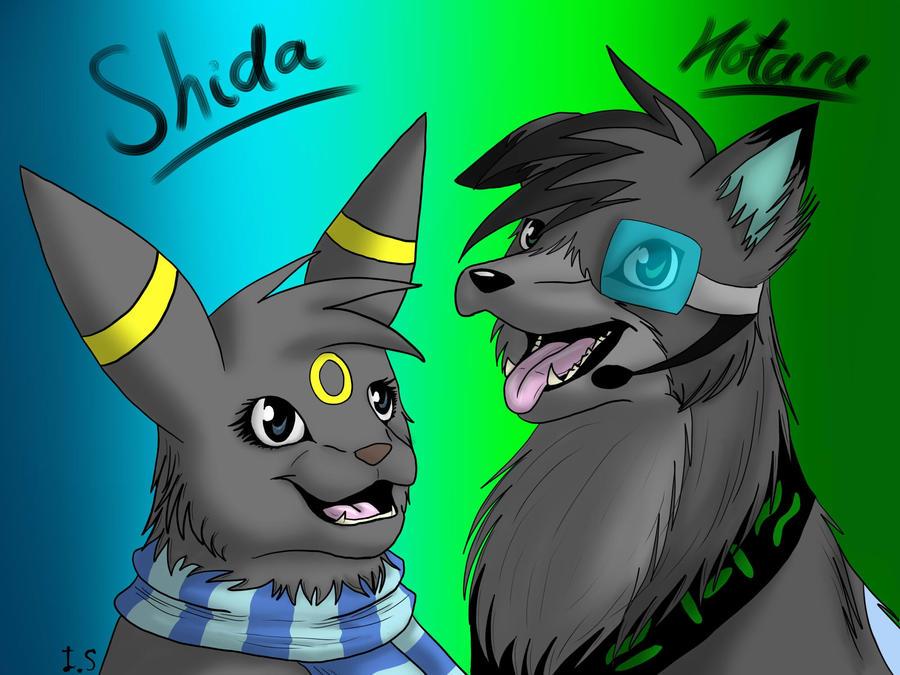 Shida and Hotaru -AT- by fluffylovey