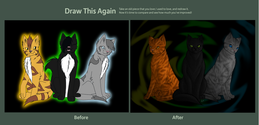 Draw this again -Contest entry by fluffylovey