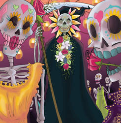 Day of the Dead by TwodeeWeaver
