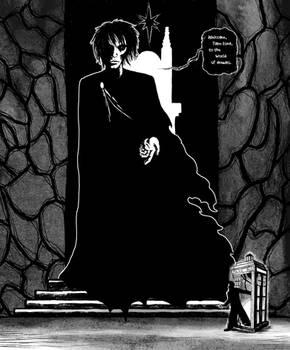 Inktober #31 - The Doctor meets Dream