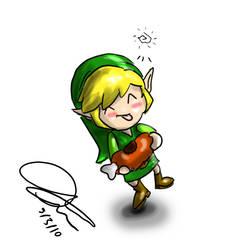 Link Chibi by DavidUnwin