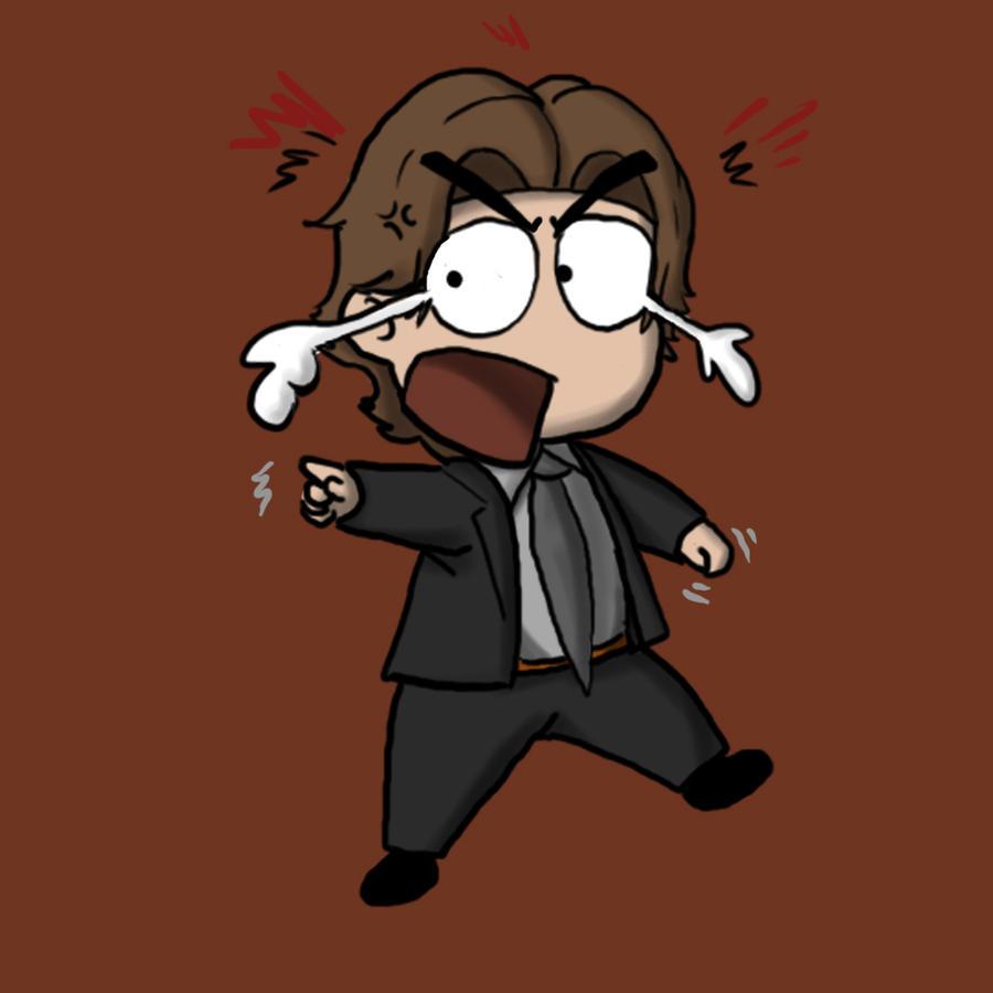 Angry Hoffman Chibi by DavidUnwin on DeviantArt