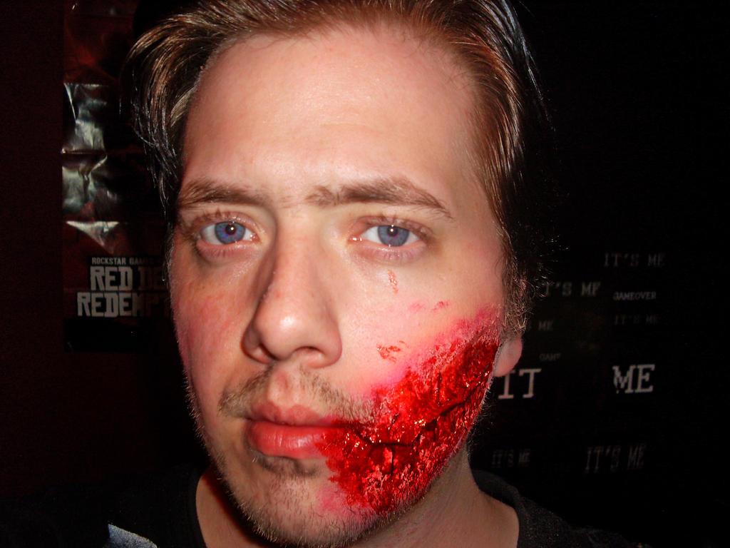 Hoff Stitches Cosplay Test by DavidUnwin