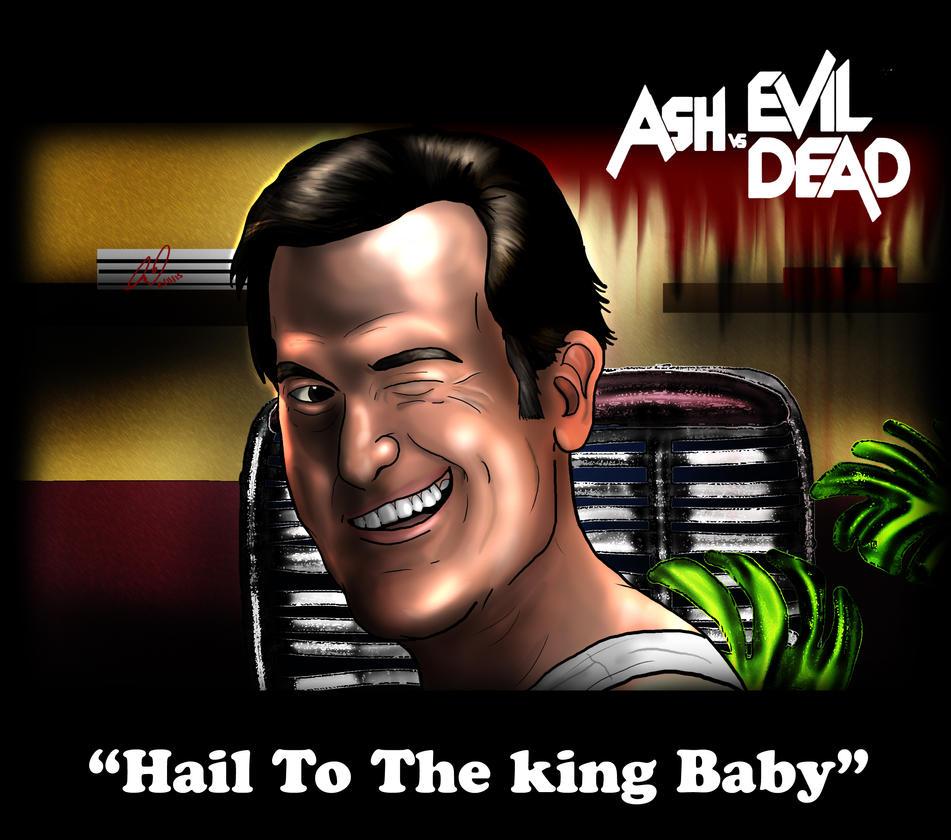 Ash VS The Evil Dead by DavidUnwin
