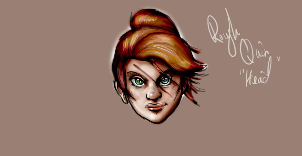 Quin's Head rough by DavidUnwin