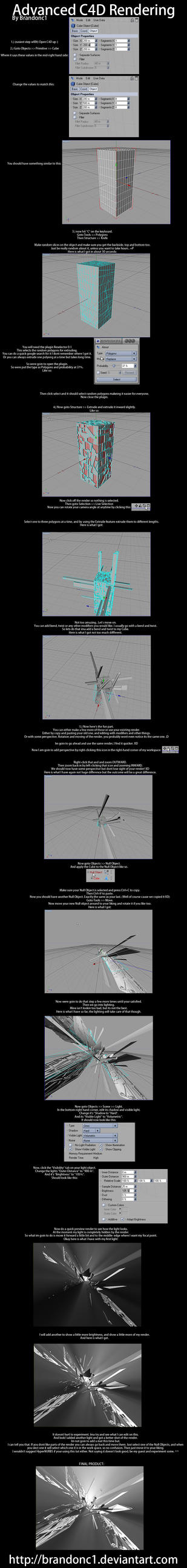 C4D Extreme Tutorial by Brandonc1