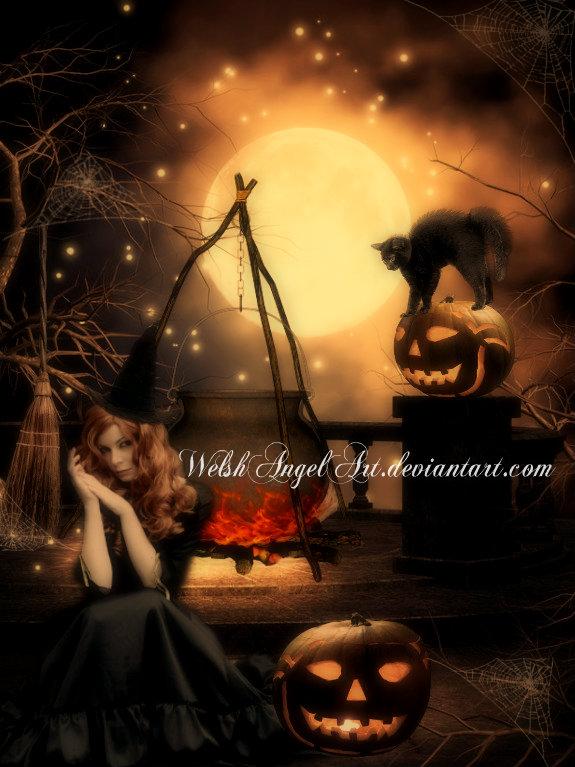 *halloween* by WelshAngelArt