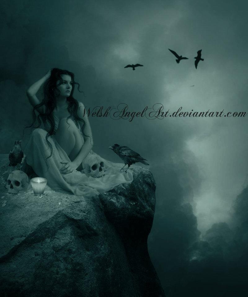 *melancholy* by WelshAngelArt