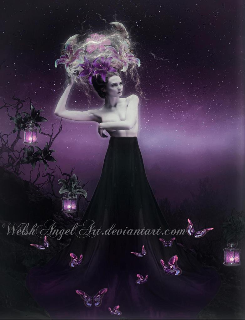 *dark goddess* by WelshAngelArt