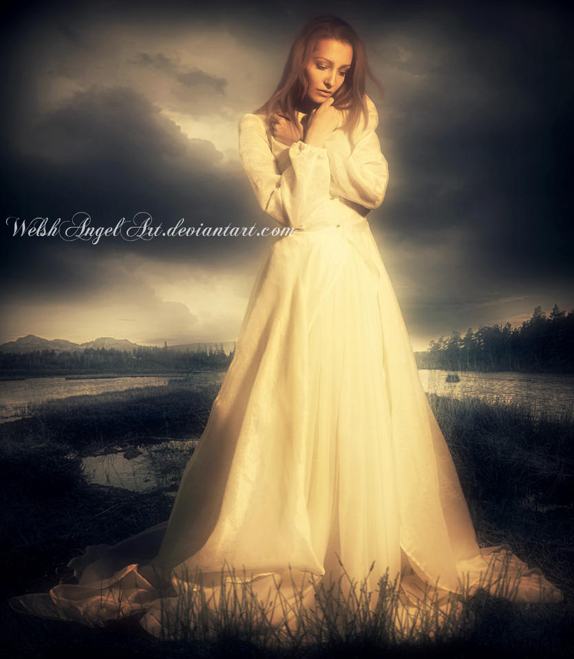 *a precious moment* by WelshAngelArt