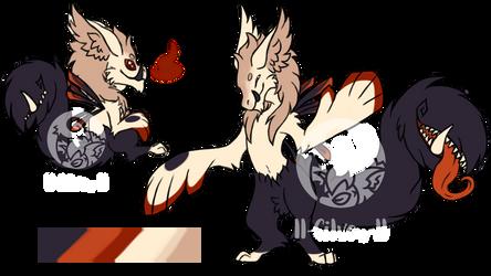 Peeper MYO - little monster by ll-Silver-ll