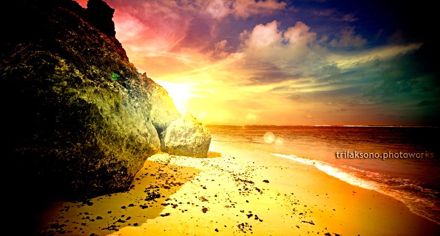 Bali Sunset 2 by semangatmembara