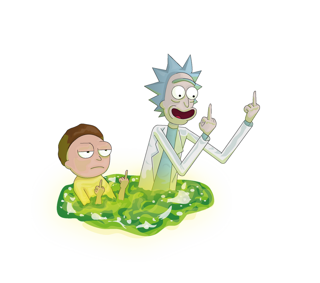 Rick and morty Png by Lalingla on DeviantArt