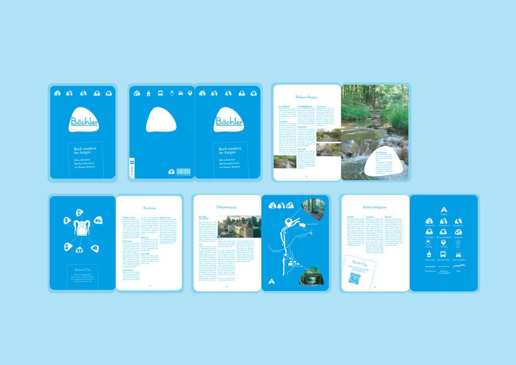 Bachwandern Broschuere by Lalingla