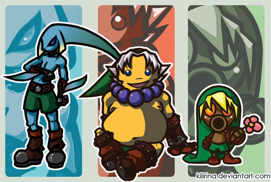 Link's Mask forms by Kilirina from DA