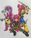 Equestrian Ninjas Cutie Mark Crusaders