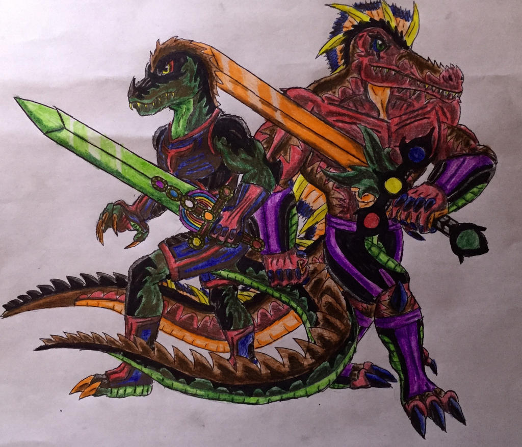 Dino Warriors Part 2 by BozzerKazooers on DeviantArt