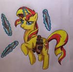 Equestria Ninjas: Sunset Shimmer (Pony)