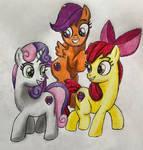 Equestria Ninjas: CMC (Pony Fillies)