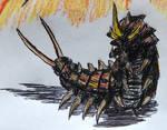 Battra (Larva) (Legendary Style)