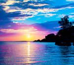 Evening Fantasy Sea