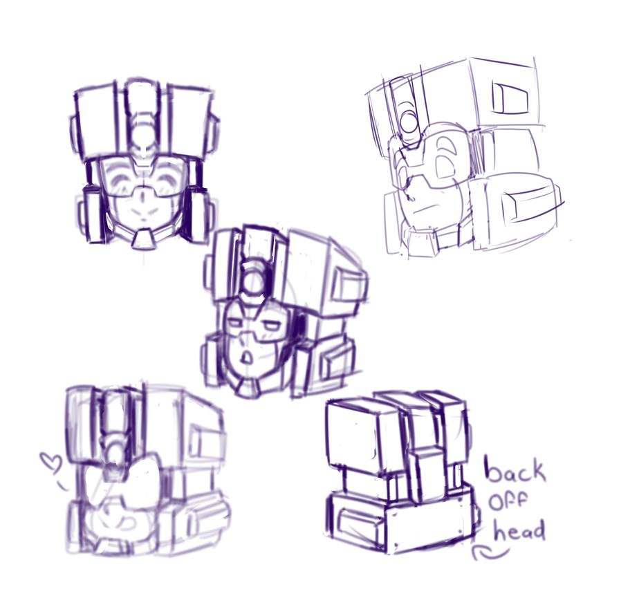 Tuner Head Sketches by Prismatic-Machine