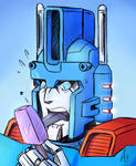Ultra Magnus .:Sketch by BTFly009:.
