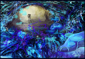 Phazon Cave by OhImSeeinStars