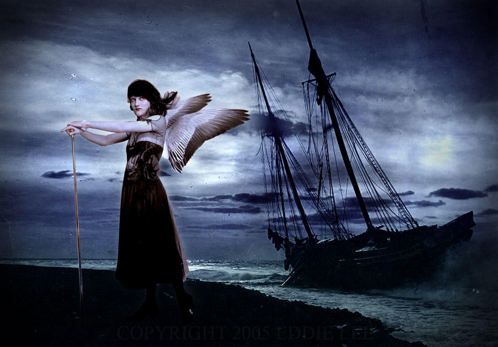 The Siren Aglaophonos by EddieLeeArt on DeviantArt