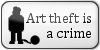 Art theft is a crime