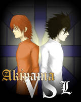 Akiyama VS L by Angelic-Zinle