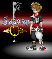 Kingdom Hearts OC Sasorx by Angelic-Zinle