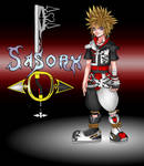 Kingdom Hearts OC Sasorx