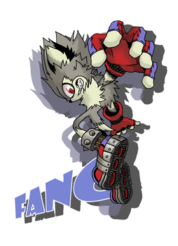 Fang the Cool Wolf