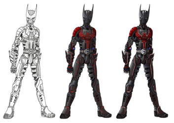 Armored Batman Beyond Suit by Angelic-Zinle