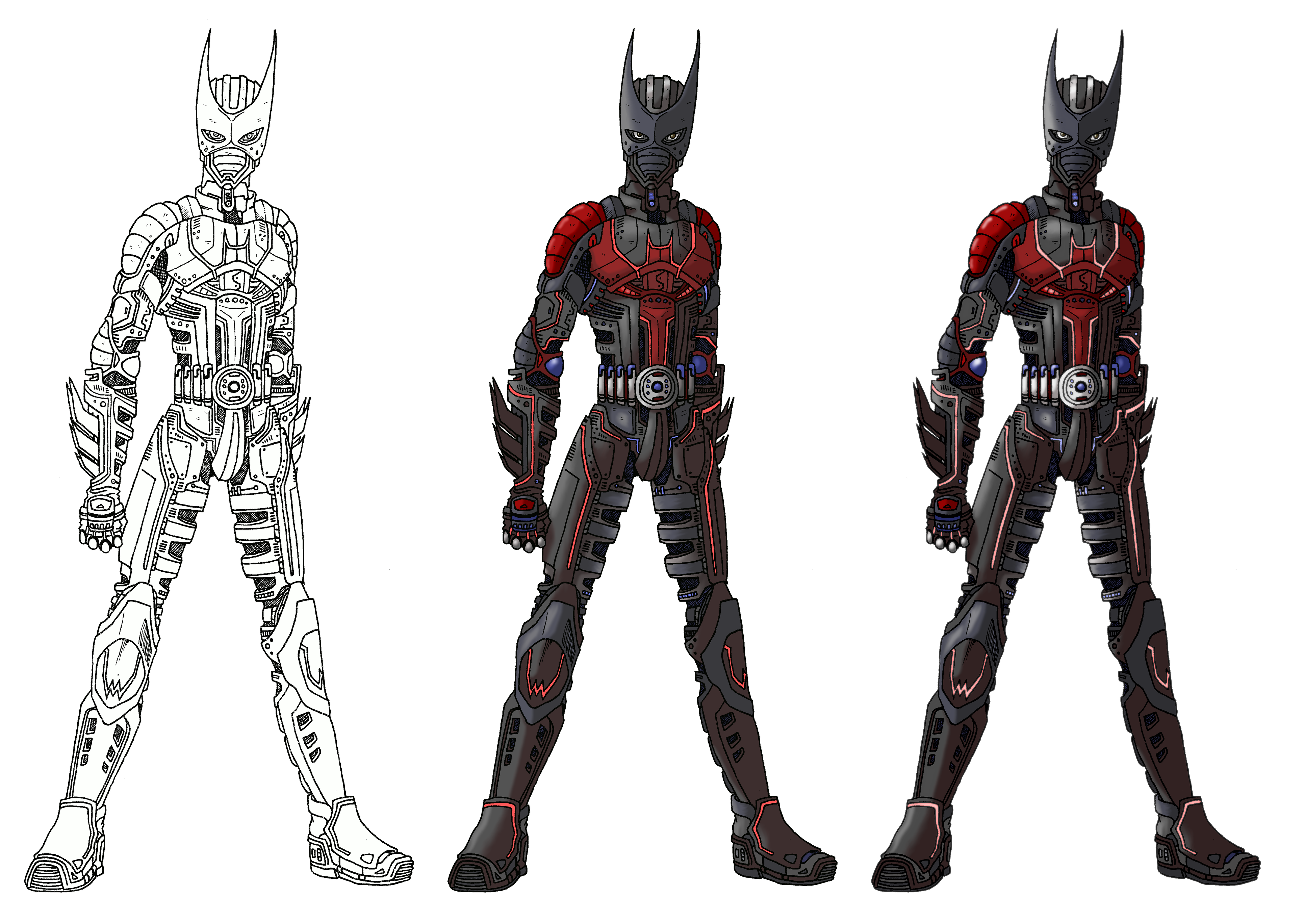 Armored Batman Beyond Suit By Angelic Zinle On Deviantart