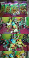 Nickolodeon Teenage Mutant Ninja Turtles Figures