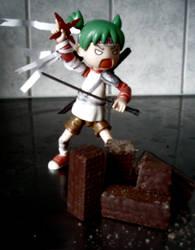 Little kitchen ninja by Angelic-Zinle