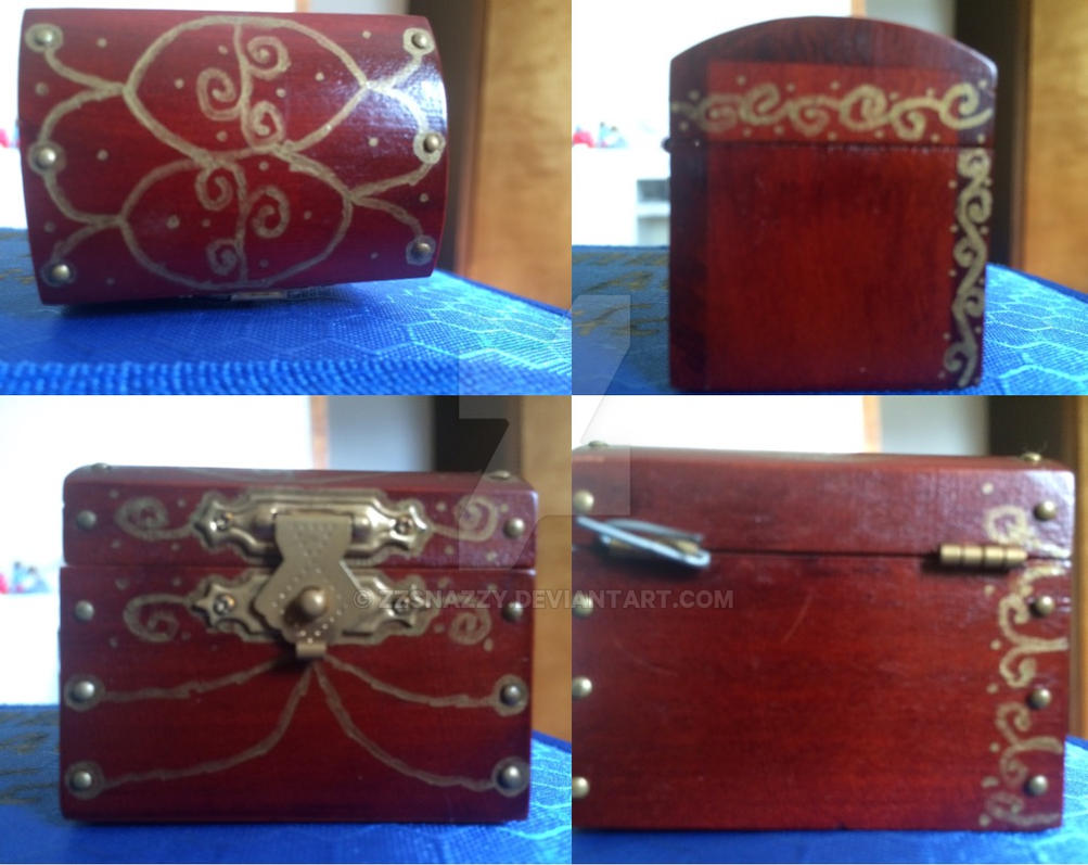 Treasure Chest Design by ZZSNAZZY
