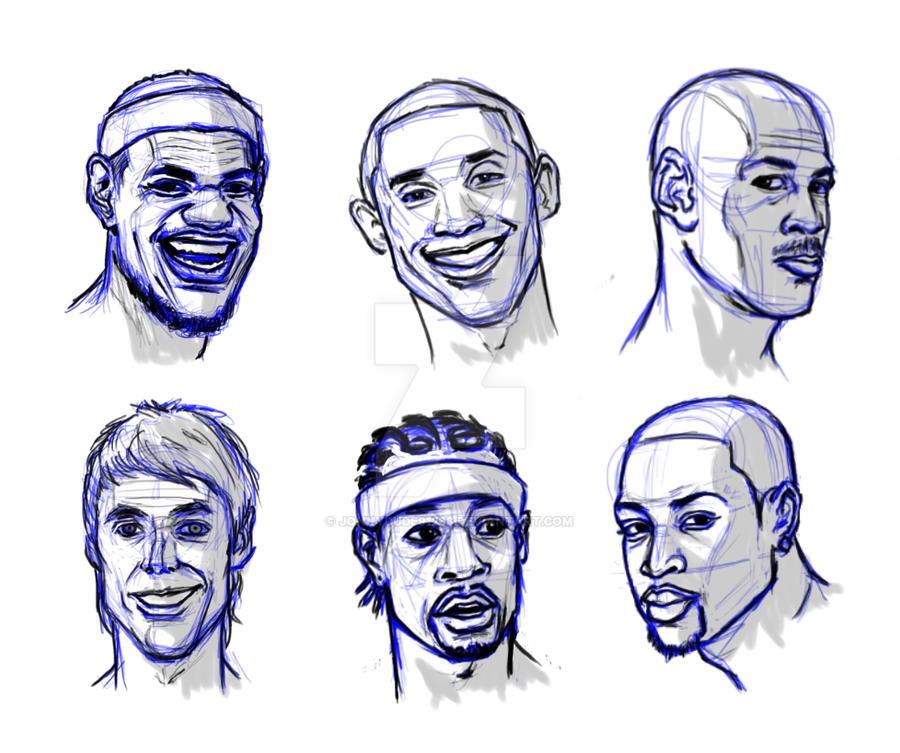 NBA Players by jonnydude91288 on DeviantArt