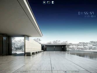 Fluxbox on Crunchbang Linux by ElderVLaCoste