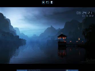 Fluxbox on Bodhi Linux by ElderVLaCoste