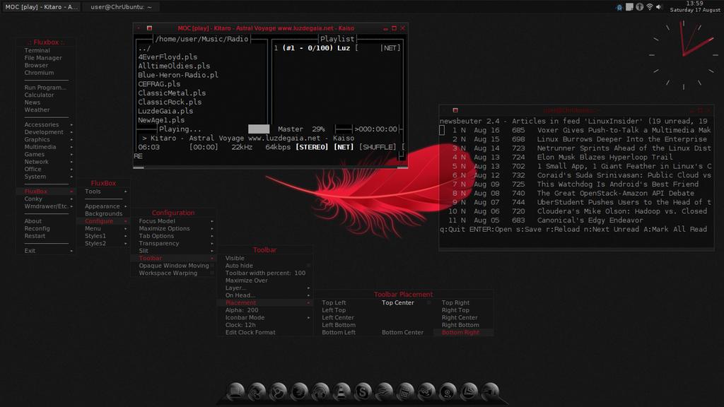 Acer Chromebook C7 ChrUbuntu/Fluxbox/Tint2